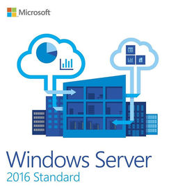 English Computer Software System Microsoft Windows Server 2016 Standard With Original Key