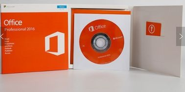 Chine Professionnel véritable de Microsoft Office 2016 de version de l'activation en ligne DVD plein plus le bureau 2016 d'emballage de détail pro plus distributeur